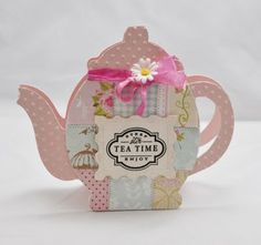 Love Terry's Tea Pot Card! Perfect for my friends that like to sit around sipping tea with me!