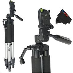 Professional 57inch Tripod 3way Panhead Tilt Motion with Built In Bubble Leveling * To view further for this item, visit the image link.