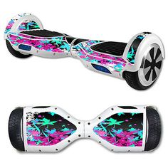 Skin Decal Wrap for Balance Board Scooter Hover Leaf Splatter in Sporting Goods, Outdoor Sports, Scooters | eBay