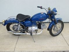 1961 Aermacchi Harley-Davidson Sprint C 250 | MotoFotoStudio