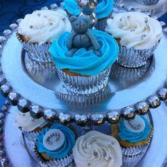 Bautizo cupcakes