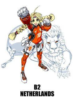 E se as seleçoes da Copa do Mundo tivessem mascotes no estilo anime? Veja aqui - Blue Bus