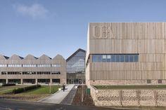 Bauen für Champions - Unigebäude in Norwich