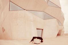 <p>Staging herself in the middle of contemporary buildings all around the world, Italian photographer Anna Di Prospero interacts with her environment. In 'I am here' series, she's an integral part of