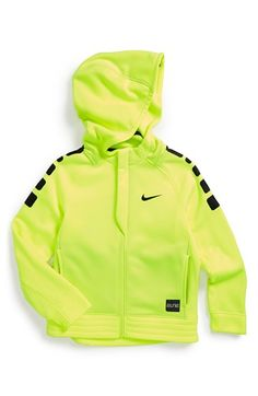 Nike 'Elite Stripe' Therma-FIT Hoodie (Toddler Boys & Little Boys)