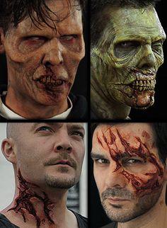 Maquillaje de Halloween, máscaras de Halloween y efectos especiales Prótesis :: Zombie Walk Party Pack -