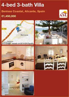 4-bed 3-bath Villa in Benissa Coastal, Alicante, Spain ►€1,450,000 #PropertyForSaleInSpain