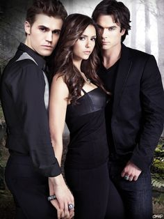 Vampire Diaries!! Come on Elena, Is there really that hard of  a decision to make? Hands down it should be Damon!!! My fave!!