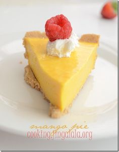 Mango Pie Recipe | No-bake mango pie recipe
