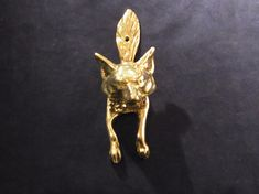 Vintage Brass Fox Head Door Knocker Fox Brass Door Knocker Vintage Brass  Fox Door Knocker Fox