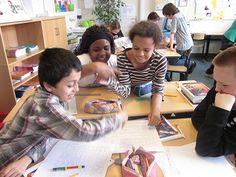 Ontwerpend leren in de klas. Lesideeen!
