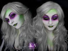 Lady Beetlejuice Makeup (with Tutorial) by KatieAlves.deviantart.com on @DeviantArt