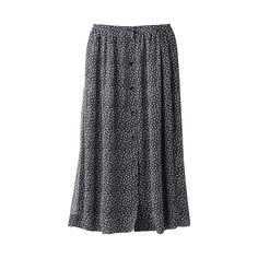 WOMEN Ines Georgette Print Skirt