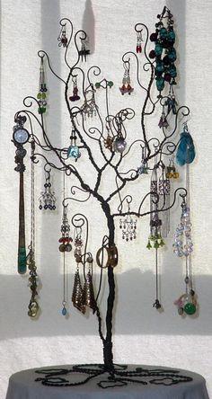 jewelry holder eclectic free standing | Add it to your favorites to revisit it later.