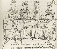 Matilda (c.1102-1167) was Queen of England for 100 days. She began as the child bride of the Holy Roman Emperor Henry V. The couple had no surviving offspring, but their marriage (despite their age difference) appeared to be a amicable. She learned German in order to become an effective consort. As Empress, Matilda assisted her husband in state & religious affairs & was loved by her adopted people. www.eleanorofaquitaine.net