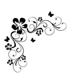 ... Flowers Wall Stickers Vinyl Art Decals Floral Quote ...