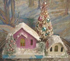online auction Christmas putz item