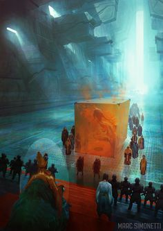 The Emperor and the Guild by MarcSimonetti