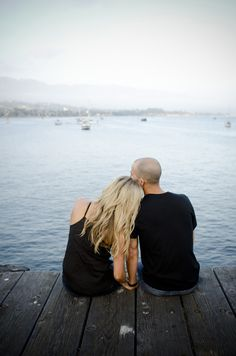 Gorgeous Santa Barbra Pier engagement!