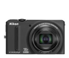 Nikon COOLPIX S9100 12.1 MP CMOS Digital Camera with 18x NIKKOR ED Wide-Angle Optical Zoom Lens and Full HD 1080p Video (Black) by Nikon. $222.51. From the Manufacturer                 Grab your passport, grab your camera and go! Advanced, Powerful, yet can go anywhere      921,000-dot, ultra-high resolution display  The new Nikon COOLPIX S9100 is loaded with innovative Nikon technology, like a 12.1-megapixel CMOS sensor that assures superb image quality in low-light...