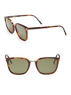 25817012b0 Saint Laurent Avana 138MM Square Sunglasses Men s Eyewear