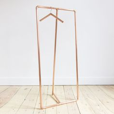 Copper clothing rack // by auguste & claire