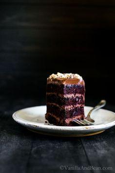 Vegan Chocolate Hazelnut Cake with Whipped Ganache   Vanilla And Bean