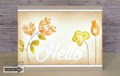 Video by Emily Cupely - TAWS, Wispy Wishes, Sweet Thing, card making, cards, clear stamps, watercolor, Autumn, Fall