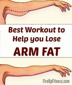 This is Best Workout to Help You Lose Arm Fat