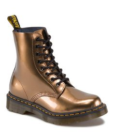 Another great find on #zulily! Copper Pascal Leather Boot by Dr. Martens #zulilyfinds