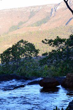 Cachoeira dos Cristais, Alto Paraiso, Goias.