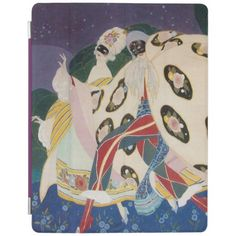 NOCTURNE WITH MASKS / Venetian Masquerade iPad Cover
