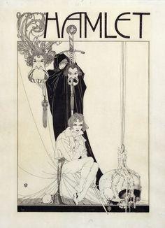 John Austen   Illus. from Hamlet, 1922.