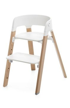 Free shipping and returns on Stokke 'Steps™' Chair at Nordstrom.com. Part of the Stokke Steps modular seating system, the ergonomically designed Steps chair works with the Steps Bouncer and Baby Set so it can be used from day one and throughout childhood for supportive comfort during mealtimes. The tool-free footrest easily adjusts to give your child maximum support—it brings the 'floor' up to her feet, so she can shift positions just like you. Use with the Stokke Steps Bouncer before he's…