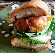 My famous gluten-free salmon burgers.