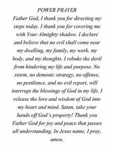 Power in prayer   Virtue House Ministries on WordPress.com