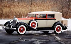 1934 Packard eight 1101 Convertible Sedan by Gooding & Co