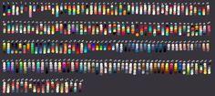 How to Art — Color Palettes by Festrat Skin Color Palette, Palette Art, Color Palettes, Color Combos, Color Schemes, Color Palette Challenge, Art Prompts, Color Psychology, Colour Board
