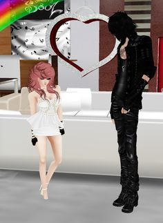 Captured Inside IMVU - Join the Fun! me and my best friend