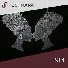 Jewelry Black wooden earrings Jewelry Earrings