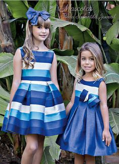 Baby Dress Ideas – Baby and Toddler Clothing and Accesories Cute Girl Dresses, Little Girl Dresses, Flower Girl Dresses, Toddler Outfits, Outfits For Teens, Kind Mode, Baby Dress, Kids Fashion, Fashion Shoes