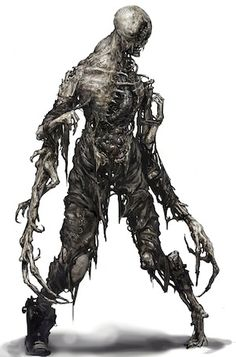 Dead Space 3: Awakened - Necromoon B by blueOX | Concept : Monster ...