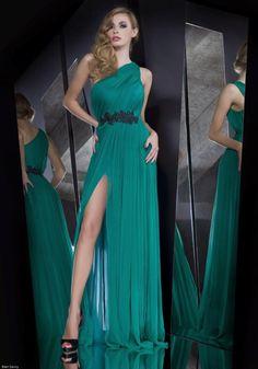Lindos vestidos de noche elegantes | Alternativas de vestidos de moda largos
