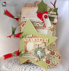 Crafting with Class: Christmas Mini-Album