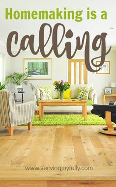 Homemaking is not a career, it's not even a choice, it's a Biblical calling! And recognizing that fact is essential in forming our other attitudes and beliefs about homemaking.