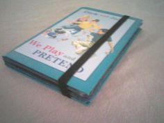 DIY homemade kindle cover using hardback books.  ♥