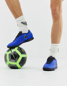 best sneakers 0f282 83c6f Nike Football Legend X 7 Academy Astro Turf Trainers In Blue AH7243-400