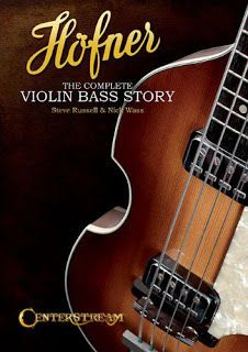 New book about the Hofner Violin Bass that electric bass made famous by Paul McCartney. Preorder your copy today!