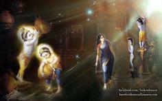 To view Krishna Balaram wallpapers in difference sizes visit -  http://harekrishnawallpapers.com/krishna-balaram-artist-wallpaper-004/