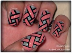 Woven - Nail Art Gallery by NAILS Magazine